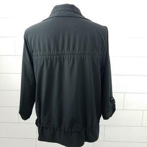 Chico's Jackets & Coats - Chico's Zenergy size 1 Jacket Black Medium Stretch
